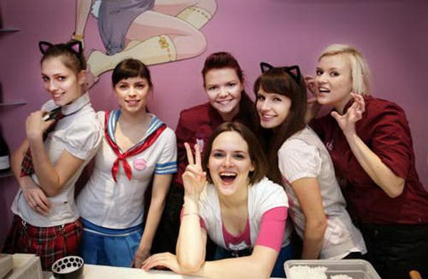 女仆寿司店尽是东欧正妹图片