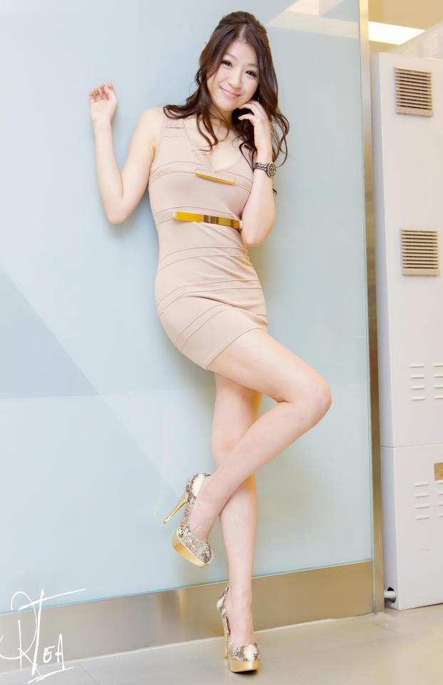 潘恩绮-spring_理工科無正妹? 潘恩綺秀長腿甜笑打破迷思