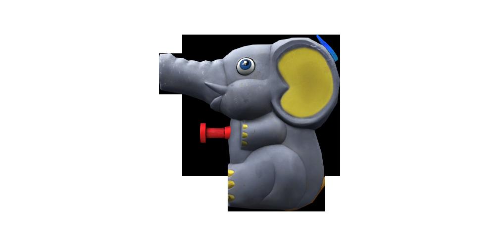 小象玩具槍